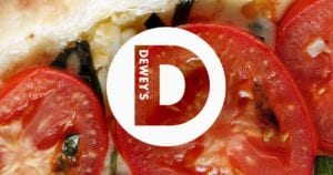 Deweys Pizza Logo
